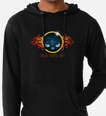 Solar Eclipse 2017 Lightweight Hoodie
