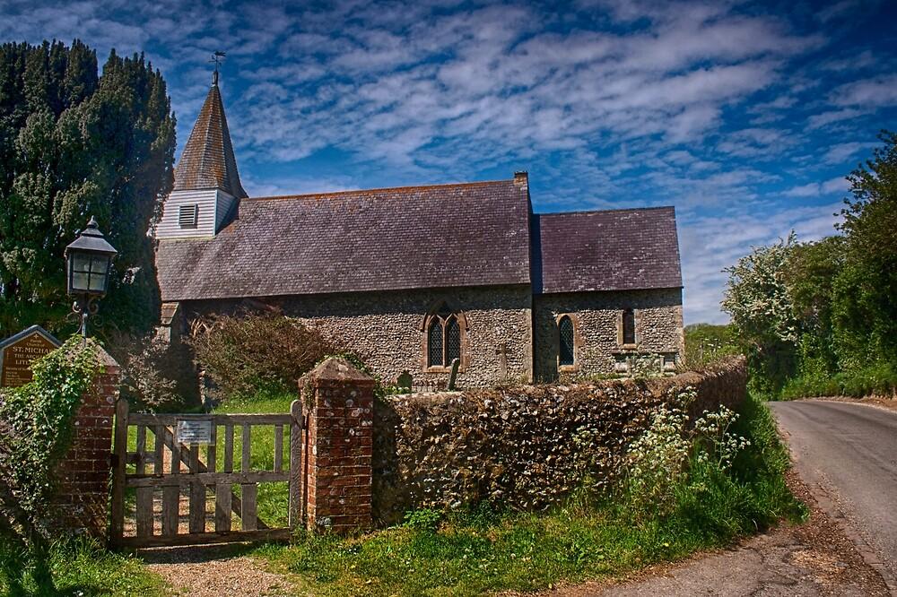 Litlington Church by Dave Godden