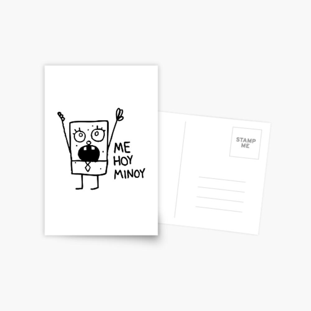 Spongebob: Doodlebob Postkarte