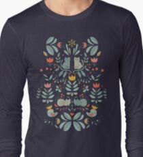 Swedish Folk Cats Long Sleeve T-Shirt