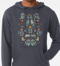 Swedish Folk Cats Lightweight Hoodie