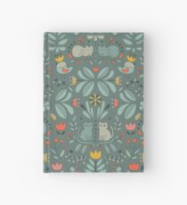 Swedish Folk Cats Hardcover Journal