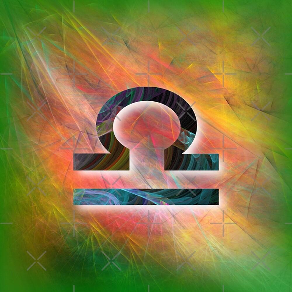 Libra birth sign CS011-7 by DuckyRubin