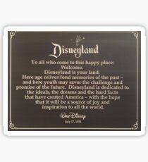Disneyland is Your Land Sticker