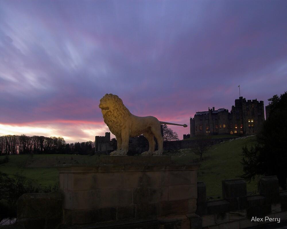 Alnwick Lion by Alex Perry