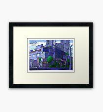 Love Hotel Framed Print