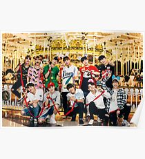 Wanna One go Carrousel Poster