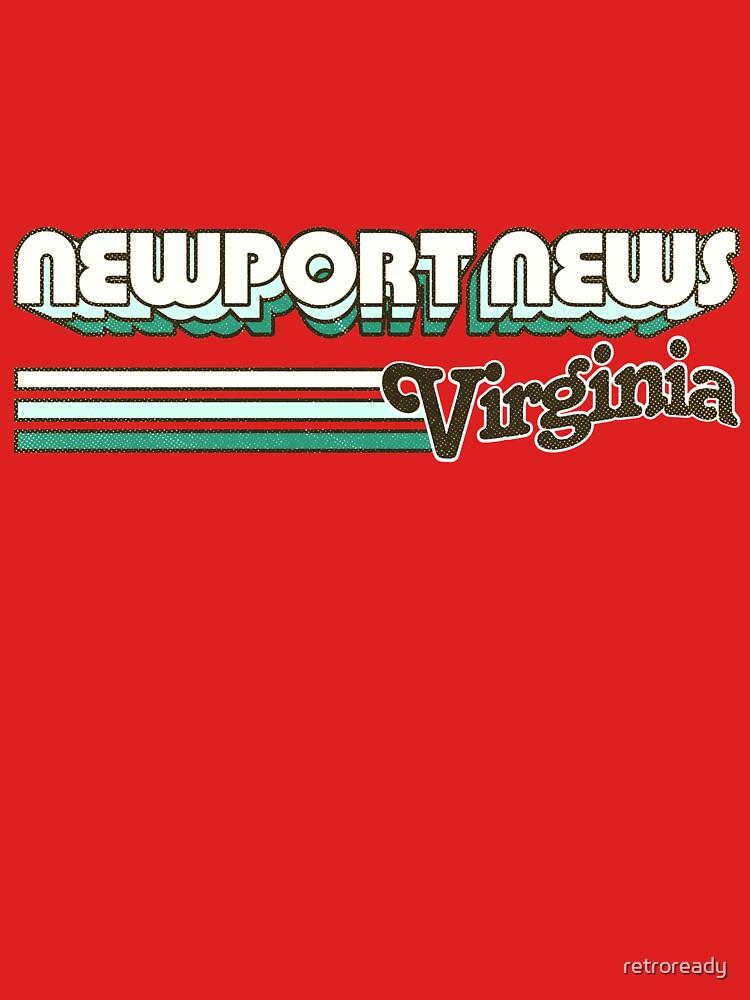 Newport News, VA | City Stripes by retroready