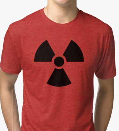 Warning Ionizing Radiation Tri-blend T-Shirt