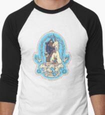 Bigfoot's Big Day - Wedding of Sasquatch & Unicorn Men's Baseball ¾ T-Shirt