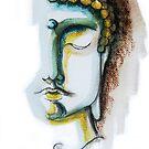 BUDDHA FACE 2 by CyraCancel