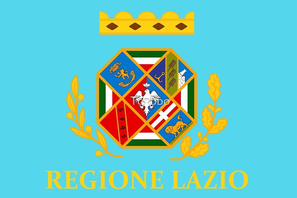Lazio Flag, Italy by Tonbbo