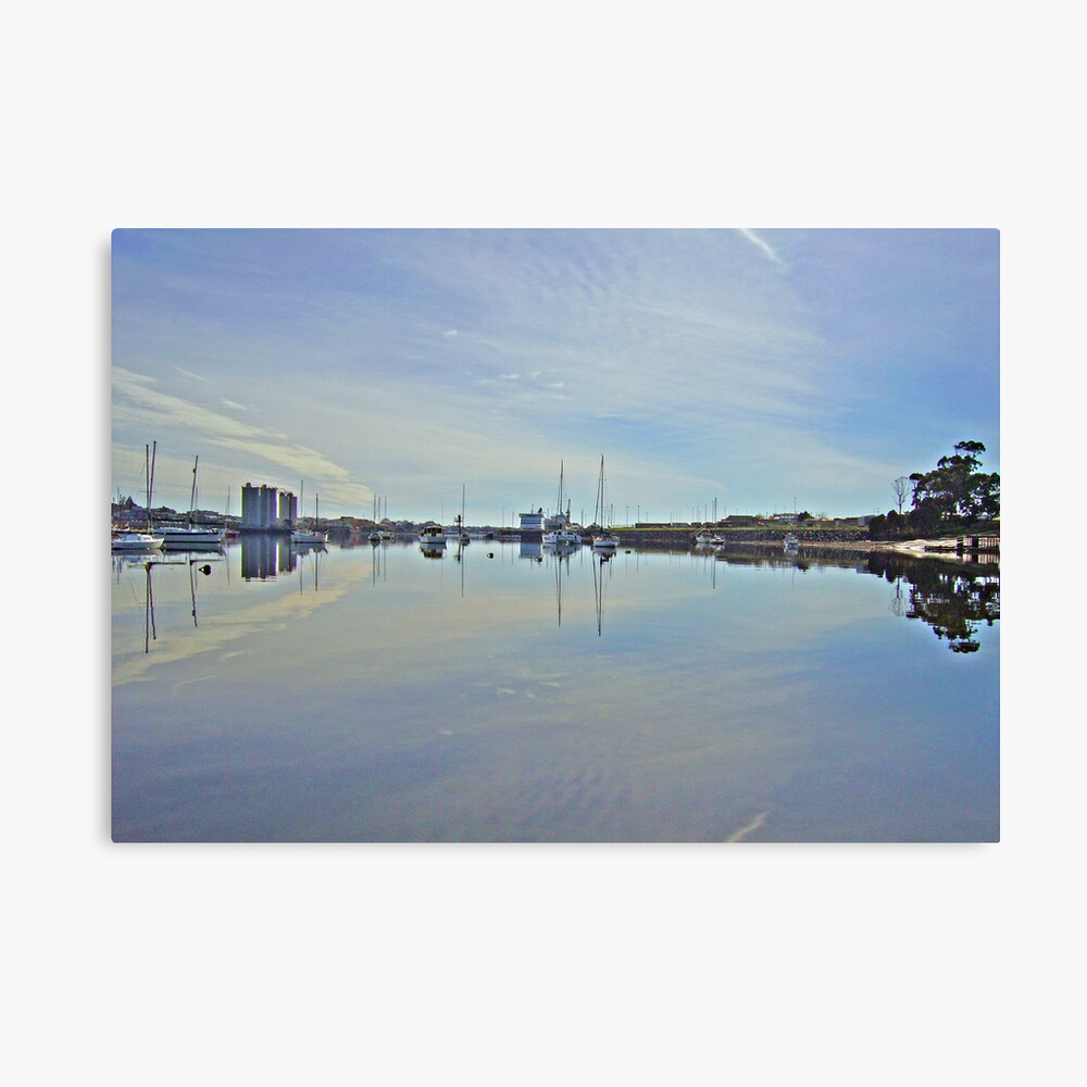 Mersey Reflections Canvas Print
