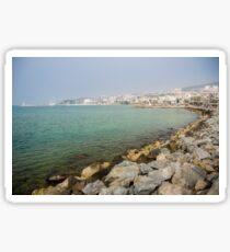 Kusadasi Coastline, Turkey Sticker