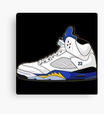 Nike Air Jordan's 23  Canvas Print
