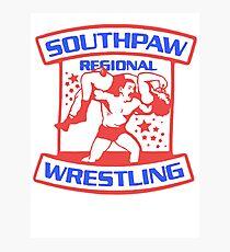 Southpaw Regional Wrestling USA  Photographic Print