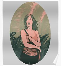 Palm Girl Poster