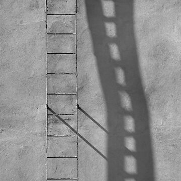 Ladder and shadow by claudiaraujo