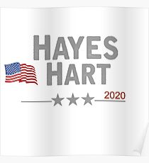 Hayes/Hart Poster
