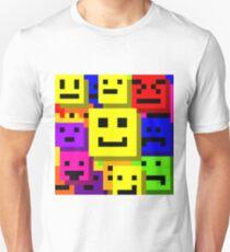 emoji type faces  T-Shirt