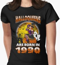 Halloqueens Are Born In 1990 T-Shirt