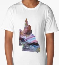 Queensland silhouette Long T-Shirt