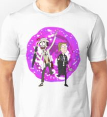 Doctor Who/Rick and Morty - Doc and Acey T-Shirt
