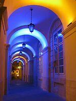 Lvov Town Hall archway by Elena Skvortsova