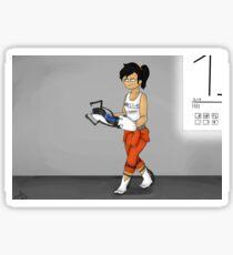 Portal 2 - Chell Sticker