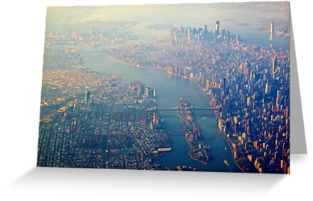 New York from the Air  (2012) by Zohar Manor-Abel
