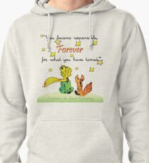 Little Prince and the fox Pullover Hoodie