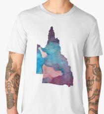 Queensland silhouette Men's Premium T-Shirt