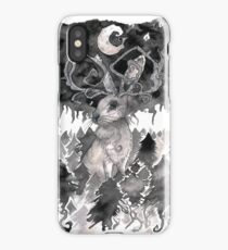 Moonlit Jackalope iPhone Case/Skin