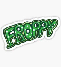 BNHA Froppy Hero Logo Sticker