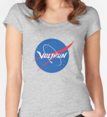 Voltron NASA Parody Women's Fitted Scoop T-Shirt