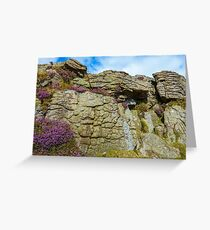 Derbyshire Gritstone Greeting Card
