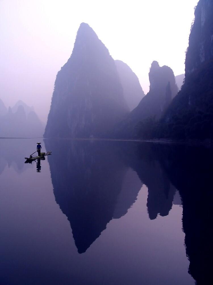 MORNING CALM - LI RIVER by Michael Sheridan