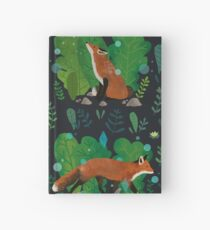 Night in the Magical Forest Hardcover Journal
