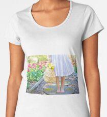Picking flowers Women's Premium T-Shirt