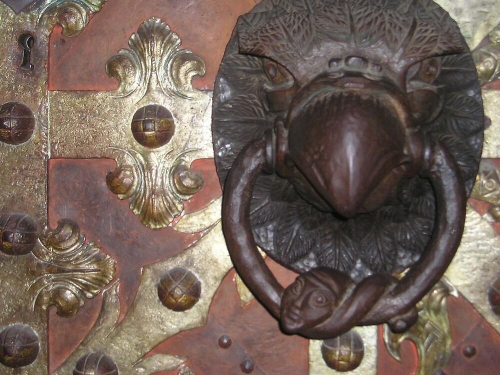 Prague door knocker by Neety