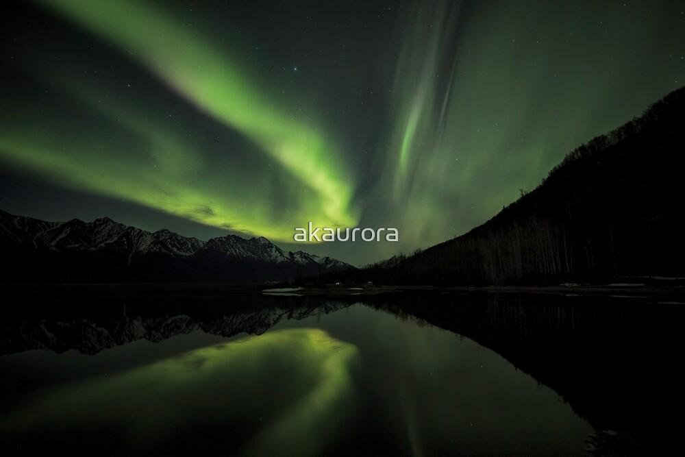 Aurora Borealis - Sweeping Curve by akaurora