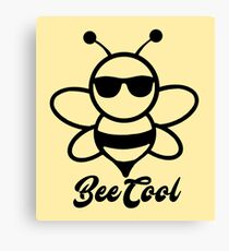 Bee Cool Canvas Print