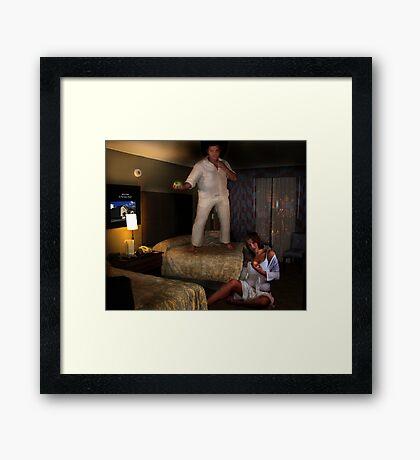 The Temptation Of Adam Framed Print