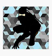 Ninja 1. Photographic Print