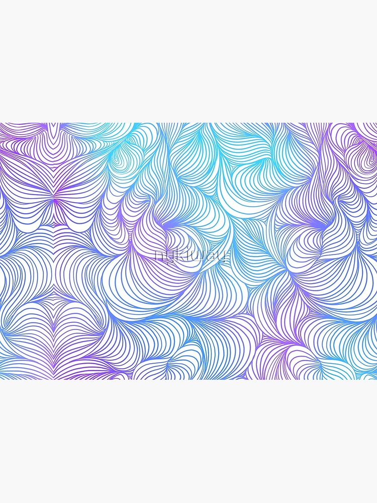 Blue and Purple Swirls by nykiway