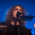 Megadeth's David Ellefson by Ignacio Orellana Alarcon