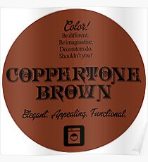 Coppertone Brown, Seventies Color Celebration! Poster