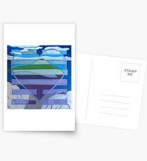 Hexagram 31: Hsien (Wooing)  Postcards