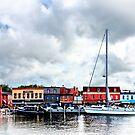 Annapolis Md - City Dock by Susan Savad