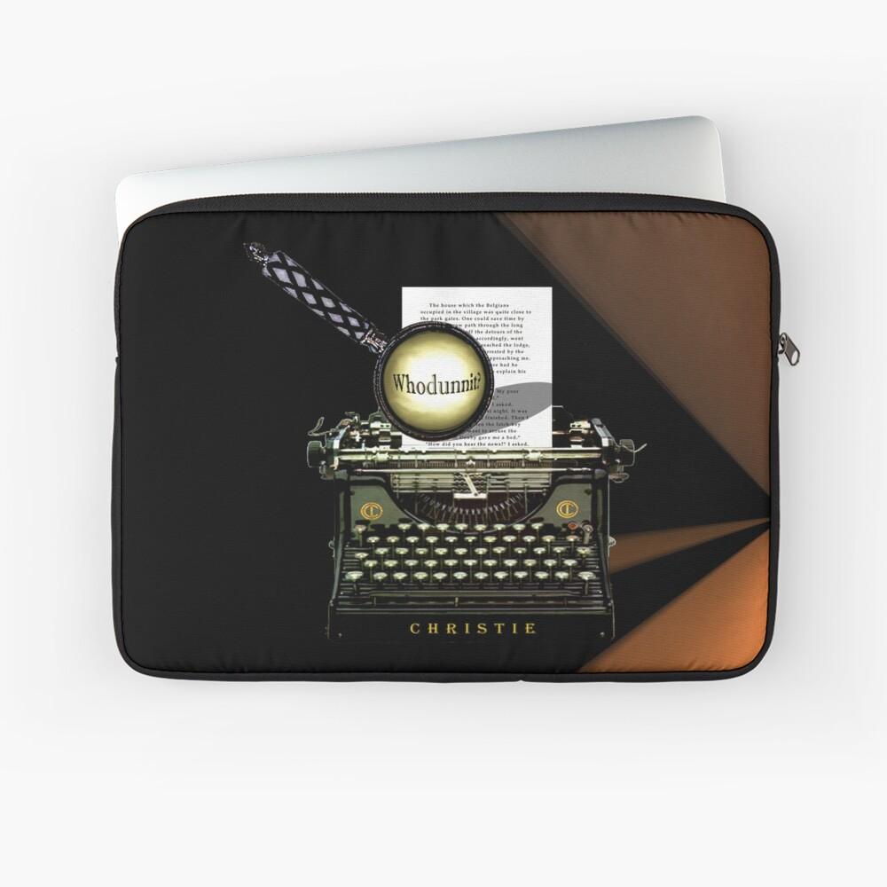 Agatha Christie kennt Whodunnit! Laptoptasche